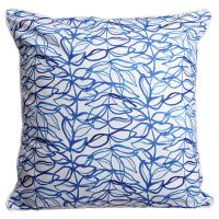 Trailing Vine Blue Pillow