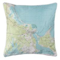 MA: Edgartown, MA (1972) Topo Map Pillow
