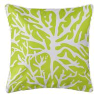 Sea Coral Pillow - Lime