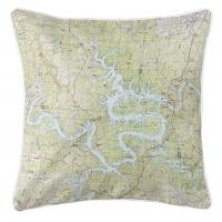 MO: Lake of the Ozarks, MO (1983) Topo Map Pillow