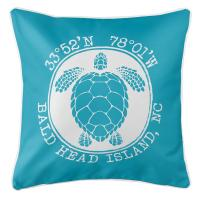 BHI, NC Sea Turtle Pillow - Calypso