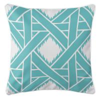 Key Largo - Passport Aqua Pillow