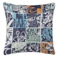 Surfing Patchwork Pillow