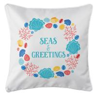 Beachcomber Christmas Pillow