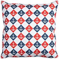 Captains Key - Anchor & Chevron Pillow