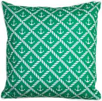 Sugarloaf Key - Anchor & Chevron Pillow