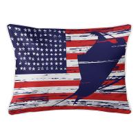 Sailfish Americana Lumbar Pillow