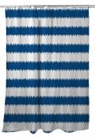 Siesta Key - Rumors Blue Shower Curtain