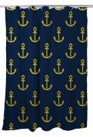 Duck Key - Anchors Shower Curtain