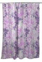 Purple Floral Fusion Shower Curtain