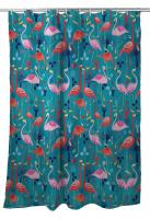 Flamingo Love Shower Curtain