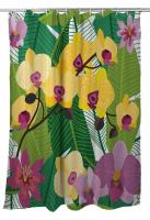 Orchid Garden Shower Curtain