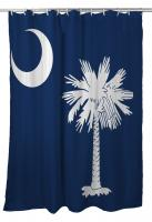 South Carolina Flag Shower Curtain