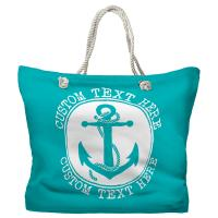 Personalized Anchor Tote Bag - Pantone 2397 C