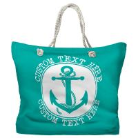 Personalized Anchor Tote Bag - Pantone 326 C