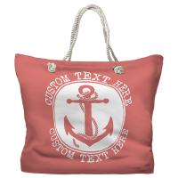 Personalized Anchor Tote Bag - Pantone 2030 C