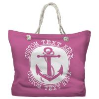 Personalized Anchor Tote Bag - Pantone 3582 C