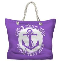 Personalized Anchor Tote Bag - Pantone 2083 C