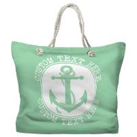 Personalized Anchor Tote Bag - Pantone 344 C