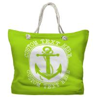 Personalized Anchor Tote Bag - Pantone 2290 C