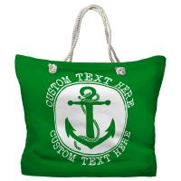 Personalized Anchor Tote Bag - Pantone 2258 C