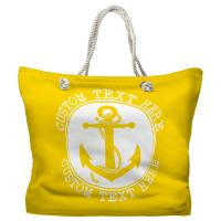 Personalized Anchor Tote Bag - Pantone 012 C