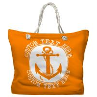 Personalized Anchor Tote Bag - Pantone 151 C