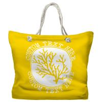 Personalized Coral Tote Bag - Pantone 012 C
