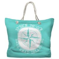BHI, NC Compass Rose Tote Bag - Pantone 3242