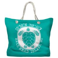 BHI, NC Sea Turtle Tote Bag - Pantone 326
