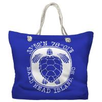 BHI, NC Sea Turtle Tote Bag - Pantone 2126