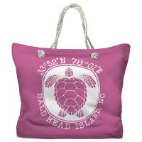 BHI, NC Sea Turtle Tote Bag - Pantone 3582