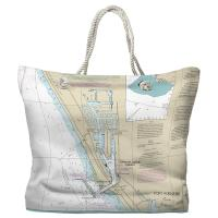 CA: Channel Islands Harbor, CA Tote Bag
