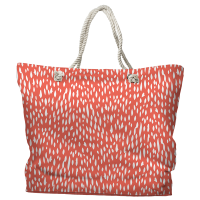 Hipster Coral Tote Bag