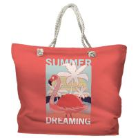 Summer Dreaming Flamingo Tote Bag