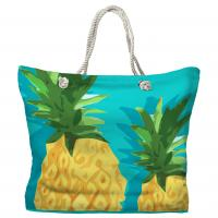 Summer Pineapple Tote Bag