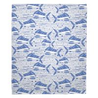 Sailfish School Blue Blanket