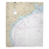 TX: Galveston to Rio Grande, TX Nautical Chart Blanket