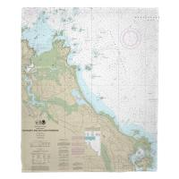 MA: Cohasset and Scituate Harbors, MA Nautical Chart Blanket