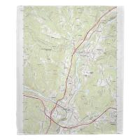 NH: Hanover, NH Topo Map Blanket