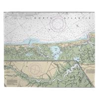 NJ: Corson Inlet, Sea Isle City, NJ Nautical Chart Blanket