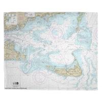 MA: Nantucket Sound and Approaches, MA Nautical Chart Blanket