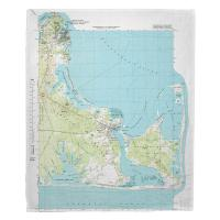 MA: Edgartown, MA (1972) Topo Map Blanket