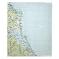 MA: Scituate, MA (1984) Topo Map Blanket