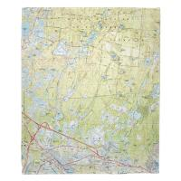 MA: Carver, Plymouth, Wareham, MA (1972) Topo Map Blanket