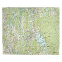 MA: Webster, MA (1982) Topo Map Blanket