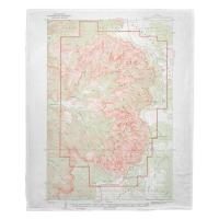UT: Cedar Breaks National Monument, UT (1936) Topo Map Blanket