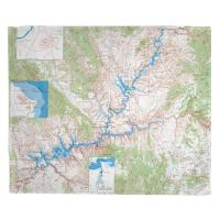 UT: Glen Canyon National Recreation Area, UT (1969) Topo Map Blanket