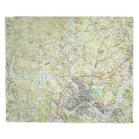 MA: Haverhill, MA (1987) Topo Map Blanket