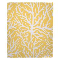 Coral Yellow Blanket